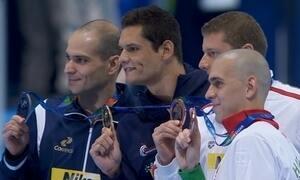 Brasil conquista primeira medalha na natação no mundial da Rússia