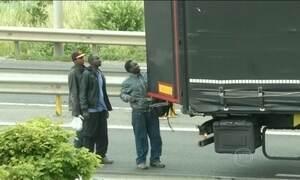 Reforço na segurança não impede entrada de imigrantes no Reino Unido