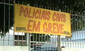 Policiais estão em greve no Maranhão e em Sergipe