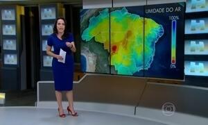 Baixa umidade do ar deixa Centro-Oeste e do Nordeste em alerta