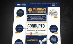 Procuradores lançam projeto de lei com 10 medidas contra corrupção