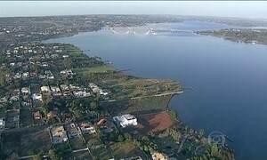 Operação em Brasília combate irregularidades na orla do Lago Paranoá