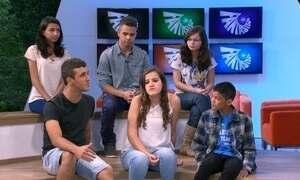 Fantástico debate com jovens os casos de corrupção do dia a dia