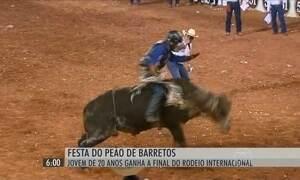 Final do Rodeio Internacional atrai milhares de pessoas a Barretos, SP