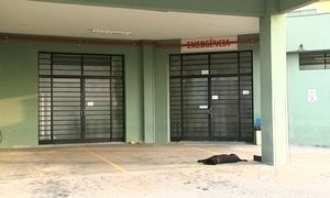 Cão ficou na porta do hospital enquanto dono estava internado em SP