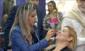 Mercado de beleza continua a crescer no Brasil, mesmo com crise