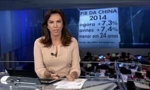 Governo da China revisa para baixo crescimento do país