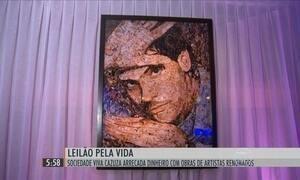 Leilão da sociedade 'Viva Cazuza' no Rio de Janeiro arrecada R$ 1,5 milhão