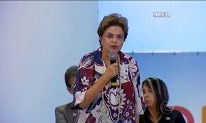 Dilma volta a pedir união e a dizer que o país tem condições de vencer crise