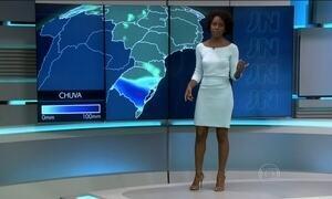 Região Sul vai ter mais um dia de chuva forte na quinta-feira (24)