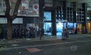 Desocupação de um prédio em São Paulo termina em confronto