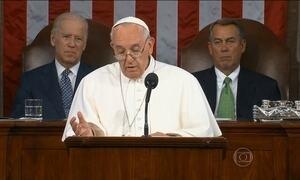 Papa pede, no Congresso dos EUA, fim de hostilidades contra imigrantes