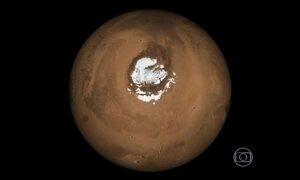 Água salgada em Marte aumenta chance de vida no planeta