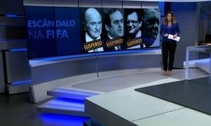 Comitê da Fifa suspende Joseph Blatter, Michel Platini e Jérôme Valcke