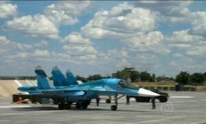 Guerra foi ampliada após ataques aéreos russos contra alvos na Síria