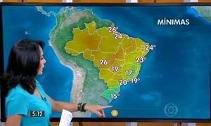Confira como fica o tempo nesta sexta-feira (9)