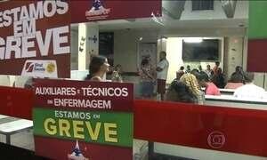 Greve dos funcionários da saúde gera transtornos para pacientes em Brasília
