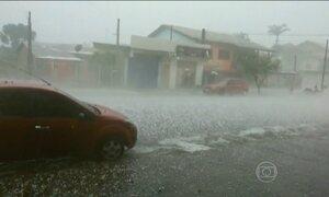 Rio Grande do Sul volta a enfrentar chuvas fortes
