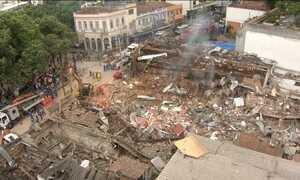 Explosão atinge mais de 50 imóveis e deixa sete feridos no Rio