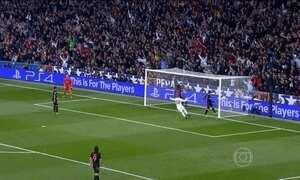 Real Madrid vence o Paris Saint-Germain na Liga dos Campeões