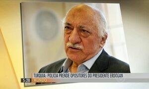 Polícia turca prende pessoas ligadas a partidos de oposição ao governo