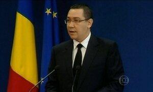 Primeiro-ministro da Romênia renuncia após incêndio em boate