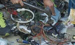 Lixo eletrônico pode ser altamente perigoso com manuseio inadequado