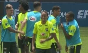 Seleção Brasileira chega a Buenos Aires para enfrentar a Argentina