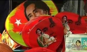 Partido de Nobel da Paz consegue maioria absoluta no Parlamento de Mianmar