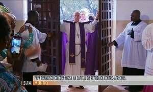 Papa Francisco encerra nesta segunda (30) sua visita pela África