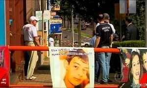 Polícia faz reconstituição da morte da mãe do menino Bernardo Boldrini no RS