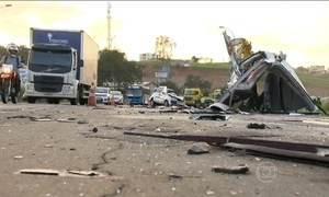 PRF faz operação para diminuir acidentes e mortes nas estradas