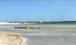 Cenário paradisíaco de Jericoacoara é atração no litoral do Ceará