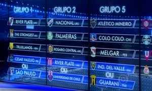 Confira resultado do sorteio que definirá os grupos da Libertadores de 2016