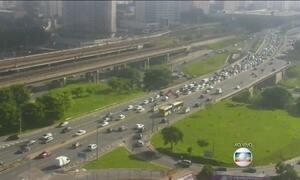 Cai o número de mortes no trânsito da capital paulista