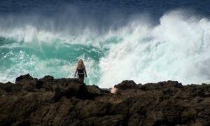 Saiba como escapar de uma onda gigante vindo em sua direção
