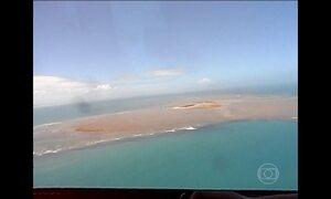 Manchas que apareceram no sul da BA podem ser lama de barragem em MG