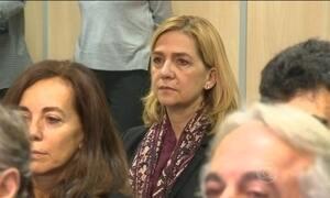 Princesa Cristina responde por fraude fiscal