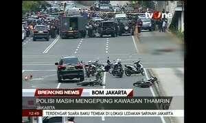 Série de ataques na Indonésia deixa pelo menos seis mortos
