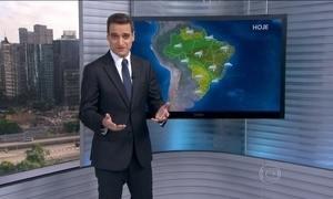 Confira como fica o tempo nesta quinta-feira (21) em todo o Brasil