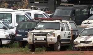 Patrulhamento em Brasília é afetado com carros da polícia fora de circulação