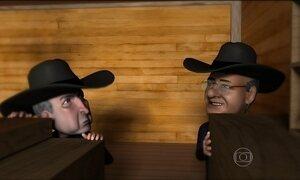 Michel Temer e Renan Calheiros são desafiados no Saloon da Lava Jato