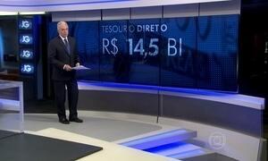 Vendas pelo tesouro direto cresceram 190% em 2015