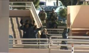 Alarme falso de tiros provoca pânico em hospital da marinha americana