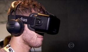 Óculos de realidade virtual criado por brasileiros permite uso do smartphone