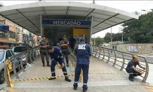 Criança leva choque em catraca de estação de ônibus no RJ
