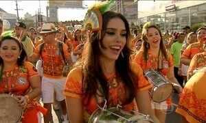 Véspera do Carnaval em Fortaleza movimenta as ruas e o turismo