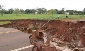 Cidade do MS decretam situação de emergência por causa da chuva