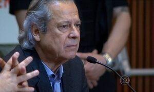 Ex-ministro José Dirceu depõe como réu em Curitiba