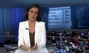 Bolsas de valores em todo mundo tem dia de alta